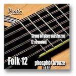 Folk Phosphor bronze 12-strunowy kpl.